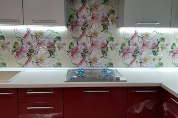 Кухня МДФ-ПВХ- кухонная вытяжка