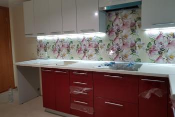 Кухня МДФ-ПВХ варочная панель