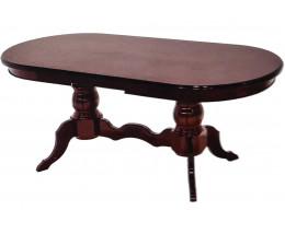Стол обеденный раскладной Версаче 160x90 Орех-золото