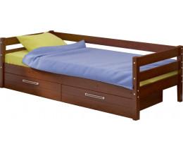 КД-2 Кровать  90x200 с ящиками  массив Сосны Детская