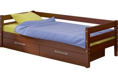 Детская Кровать с ящиками КД-2 90x200 из массива Сосны