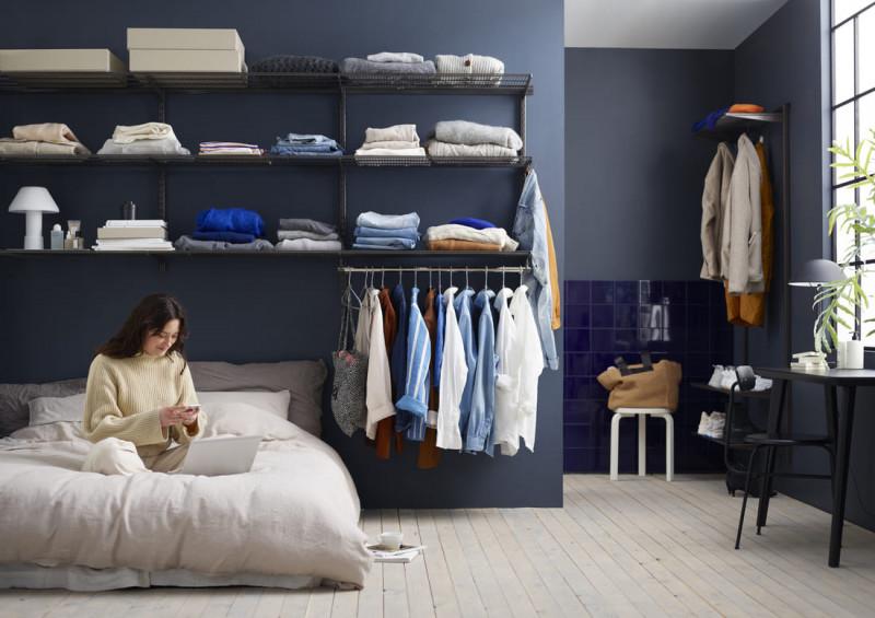 система хранения в спальню
