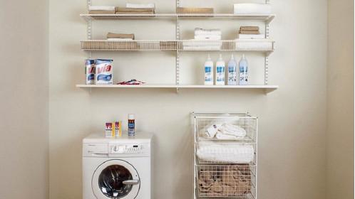 Хранение белья в ванной