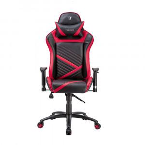 Кресло компьютерное TESORO Zone Speed F700-BR [black-red]