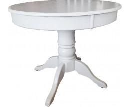 Стол обеденный Милан Эмаль белый раскладной
