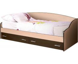 Кровать софа 03 (800) с ящиками
