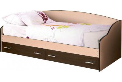 Кровать софа 04 с ящиками