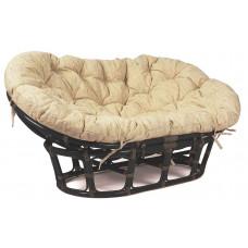 Кресло Мамасан Starwort с подушкой MK-6110-BR Коричневый/Бежевый