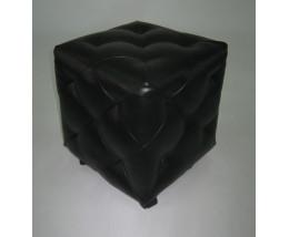 Пуфик со стяжками MK-4216 Черный