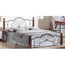 Кровать двуспальная FD 871 MK-1912-RO Темная вишня 200х160