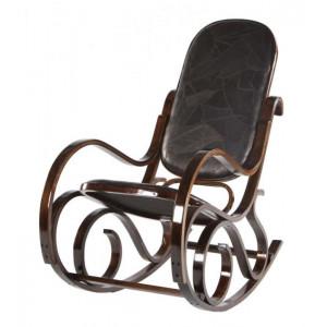 Кресло-качалка VT-C-20 MK-2302 Темный орех/Коричневый