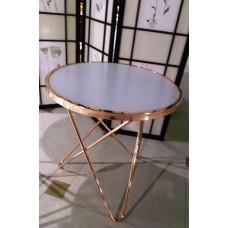 Журнальный столик MK-2373-BR Розовое золото