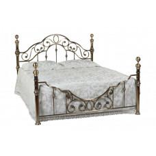 Кровать двуспальная 9603 MK-2204-AB Бронзовый 200х160