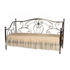 Кровать односпальная 9910 MK-2217-AB Бронзовый 200х90
