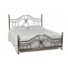 Кровать двуспальная 9315 L MK-2203-AB Бронзовый 200х160