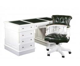Стол письменный MJ-489 MK-2438-WT Белый