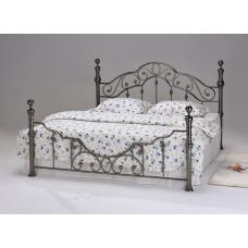 Кровать двуспальная 9603 MK-2205-BN Черный 200х160