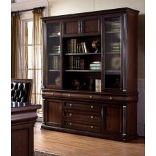 Шкаф книжный 9901 MK-1708-DN Темный орех