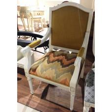 Кресло Florence MK-5070-AWB Молочный/Узор