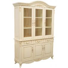 Книжный шкаф Милано MK-1863-IV Слоновая кость