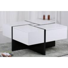 Журнальный стол CT-6708 MK-5804-WT Белый