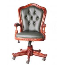 Кресло офисное MK-CHO02 MK-2465-NM Итальянский орех/Зеленый