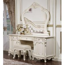 Туалетный столик Глория FF6093 MK-2708-WG Слоновая кость с золотой патиной