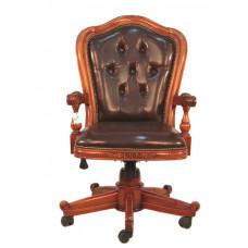 Кресло офисное MK-CHO02 MK-2465-NM Итальянский орех/Коричневый