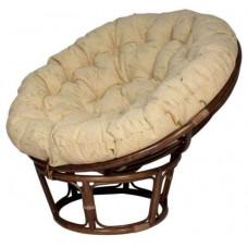 Кресло Папасан Starwort с подушкой MK-6109-BR Коричневый/Бежевый