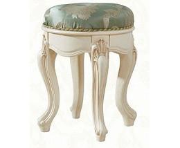 Банкетка круглая Милано MK-1861-IV Слоновая кость