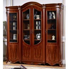 Шкаф книжный Юлиана 3172 MK-3034-BR Темный орех