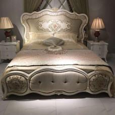 Кровать двуспальная Maris MK-5401-BO Беленый дуб 200х180