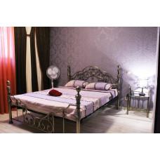 Кровать двуспальная 9603 MK-2206-AB Бронзовый 200х180