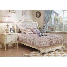 Кровать односпальная без изножья Милано 8801-A MK-1846-IV Слоновая кость 200х120