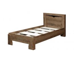 Кровать 33.07 Лючия с настилом (900)