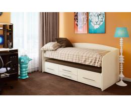 Кровать двухъярусная Адель - 5 Дуб Линдберг