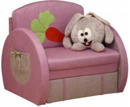 Кресло-кровать Мася - 8 (Кролик) для девочки