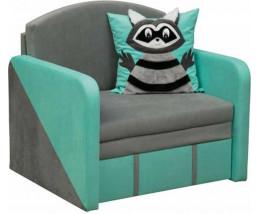 Детский диван с бортиками Мася - 15 (Крошка Енот)