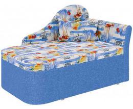 Узкий угловой диван Мася - 12 левый для детской