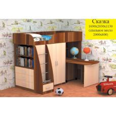 Кровать СКАЗКА (детский комплекс)