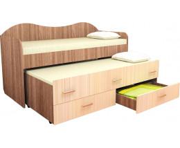 Кровать Нимфа 2-х ярусная