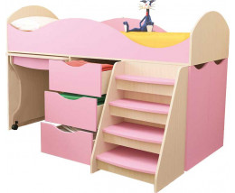 Кровать Тошка с лесенкой
