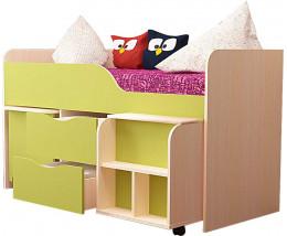 Кровать ГНОМИК с лесенкой