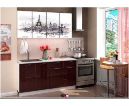 Кухня с фотопечатью Башня