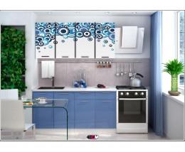 Кухня с фотопечатью Круги