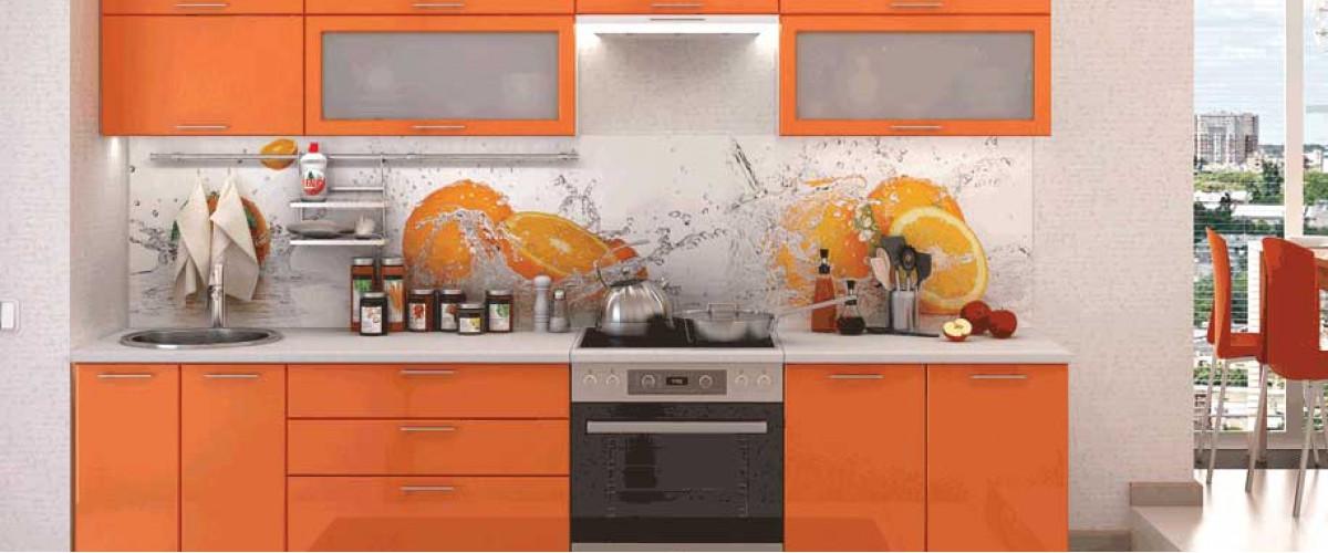 Кухня Ксения оранж
