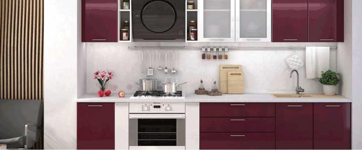 Кухня Ксения бордо