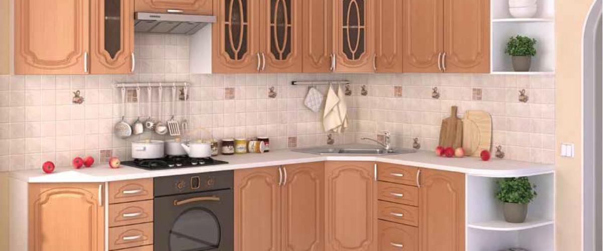 ля Кухня Лира ольха угловая