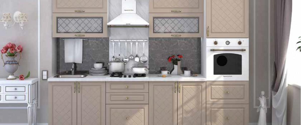 Кухня Модена дуб ваниль