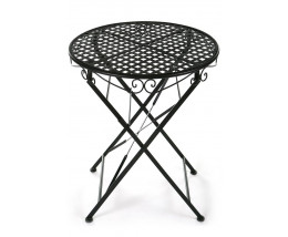 Кованый садовый стол Patio Черный